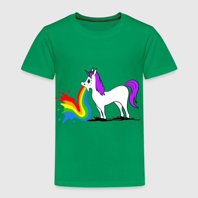 Unicorn - Rainbow Skjorter - Premium T-skjorte for barn