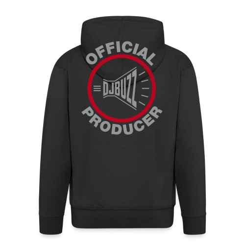 Sweat Shirt Official producer (Argent) - Veste à capuche Premium Homme