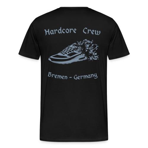 Gabberlette Männershirt Silber glänzend - Männer Premium T-Shirt