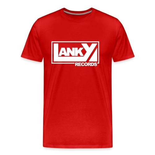 Lanky All-Star Shirt Rot - Männer Premium T-Shirt