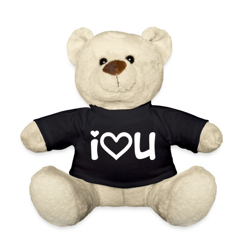 i love u - Teddy