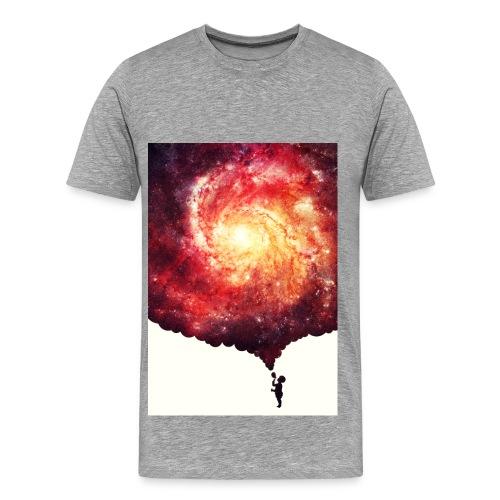 T-shirt Hommes - GALAXY SKY MAN II - T-shirt Premium Homme