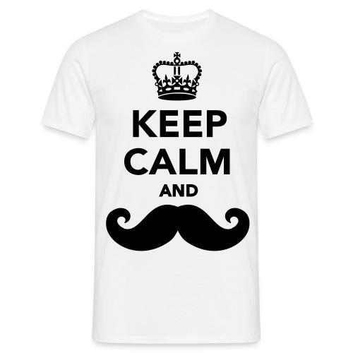 T-shirt bianca Fantasy - Maglietta da uomo