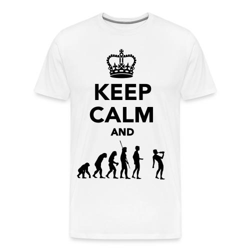 T-shirt bianca Fantasy - Maglietta Premium da uomo