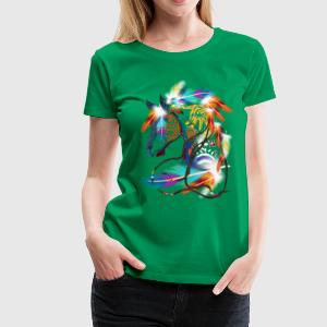 Bright Horse - Frauen Premium T-Shirt