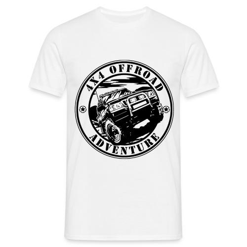 4x4 Offroad Adventure Black - Männer T-Shirt