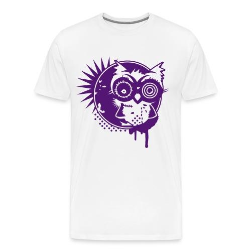 owl - Mannen Premium T-shirt