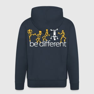be different (2c) Sweat-shirts - Veste à capuche Premium Homme