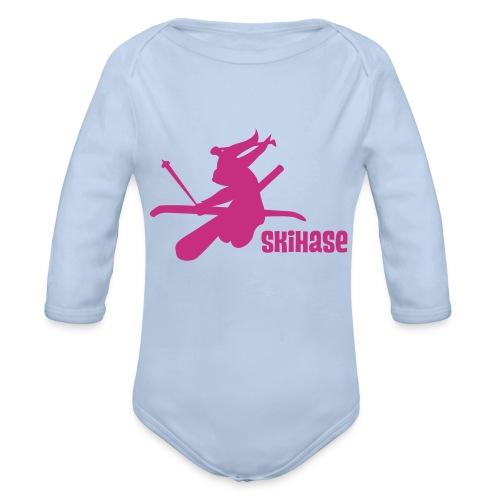 Skihase - Baby Bio-Langarm-Body
