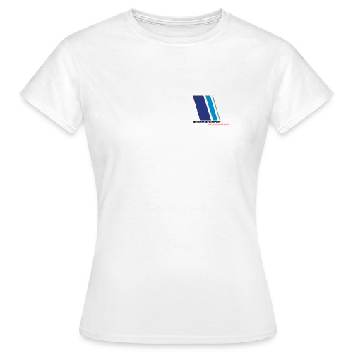 WINGEIER MOTORSPORT - High Performance T-Shirt, standard weiss - Frauen T-Shirt