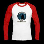 Long sleeve shirts ~ Men's Long Sleeve Baseball T-Shirt ~ RFS Logo (Raglan Long Sleeve)