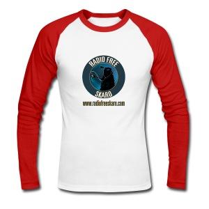 RFS Logo (Raglan Long Sleeve) - Men's Long Sleeve Baseball T-Shirt