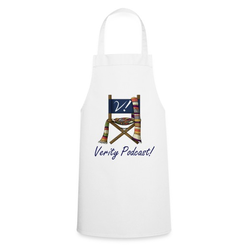 Verity! Podcast Apron-Light - Cooking Apron