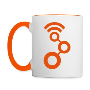 The GNU Radio Cup (Righties) - Tasse zweifarbig