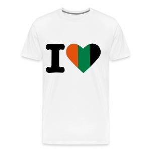 Nijmeegs hart - Mannen Premium T-shirt