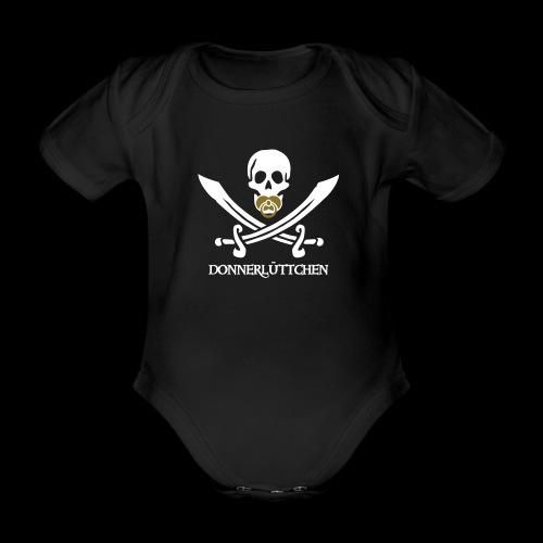 ~ Donnerlüttchen ~ - Baby Bio-Kurzarm-Body