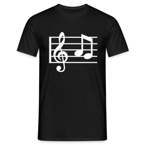 Music Notes - Classic T-Shirt - Men's T-Shirt