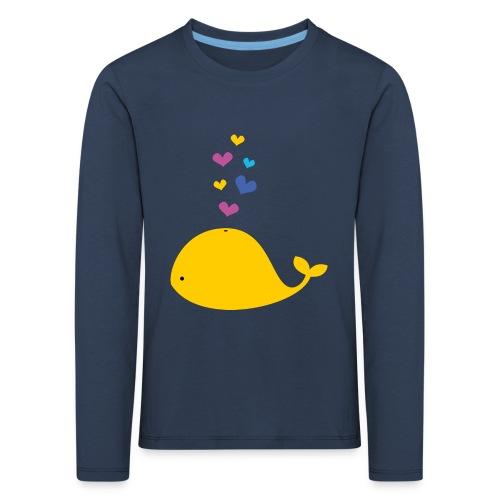 Kleiner Wal - Kinder Premium Langarmshirt