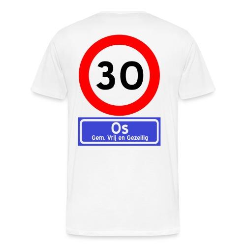 Ossenfeest premium t-shirt 1 - Mannen Premium T-shirt