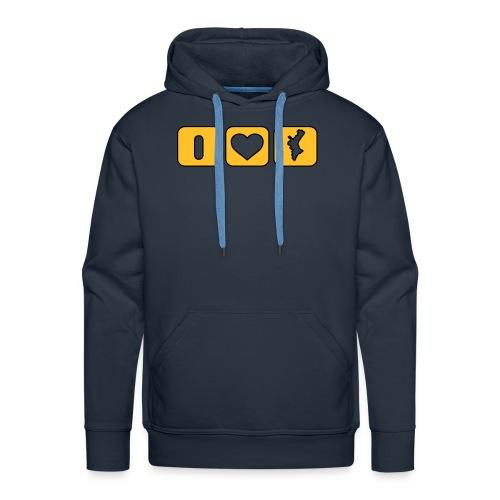 Dessuadora I Love Mapa - Sudadera con capucha premium para hombre