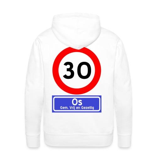 Ossenfeest sweater met capuchon 1 - Mannen Premium hoodie