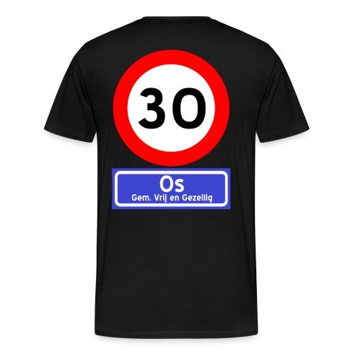 Ossenfeest premium t-shirt 1 zwart - Mannen Premium T-shirt