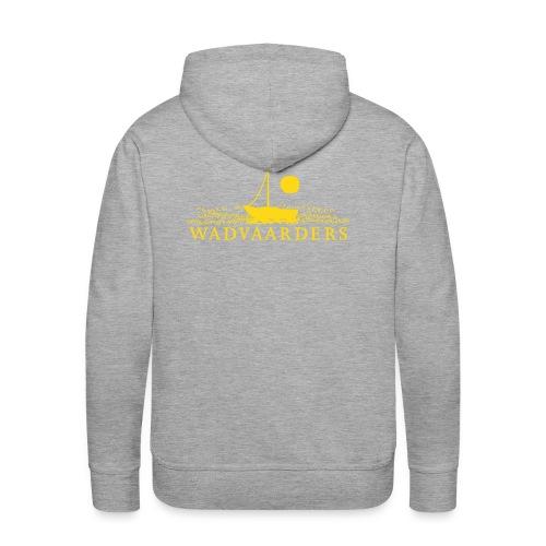 Mannensweater met capuchon/flock - Mannen Premium hoodie