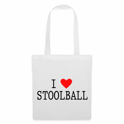 I Love Stoolball Tote Bag - Tote Bag