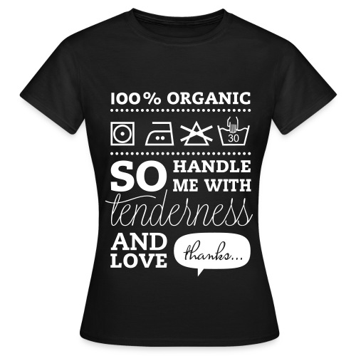 100% Organic - Women's T-Shirt
