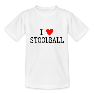 I Love Stoolball Kids' Classic T-Shirt