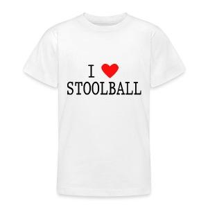 I Love Stoolball Kids' Classic T-Shirt - Teenage T-shirt