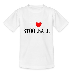 I Love Stoolball Kids' Classic T-Shirt - Teenage T-shirt