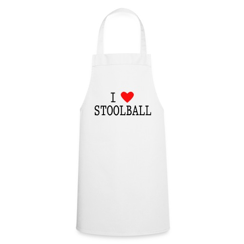 I Love Stoolball Apron - Cooking Apron