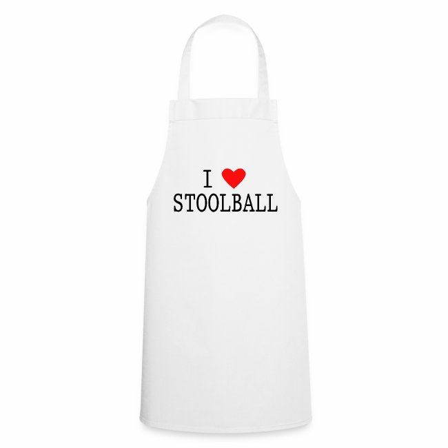 I Love Stoolball Apron
