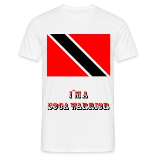 Soca Warrior white Shirt - Männer T-Shirt