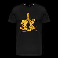 T-shirts ~ Mannen Premium T-shirt ~ the one thing T-shirt