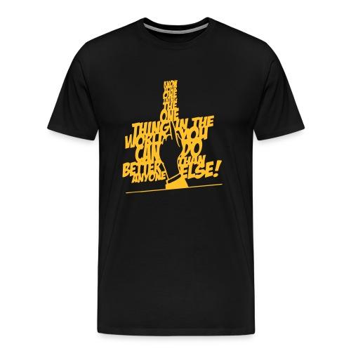 the one thing T-shirt - Mannen Premium T-shirt