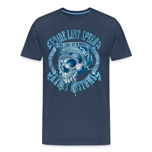Kabes Sins of a Biker - Men's Premium T-Shirt