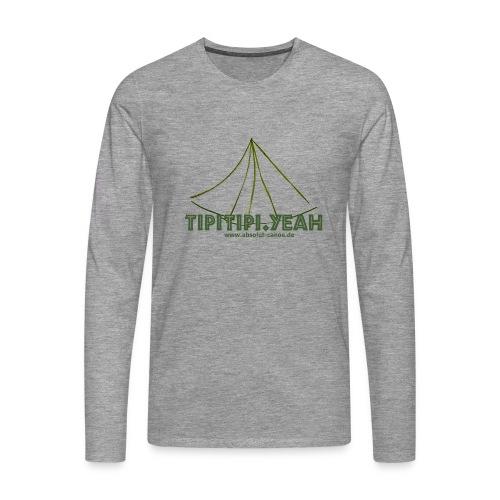 TipiTipi.yeah-absolut canoe - Männer Premium Langarmshirt