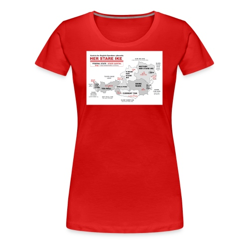 Phonetic Austria - Frauen Premium T-Shirt