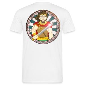 King Arthur (Back) - Men's T-Shirt