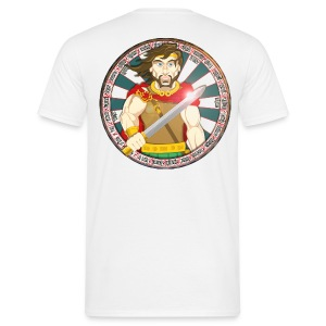 King Arthur (Back) - Men's T-Shirt