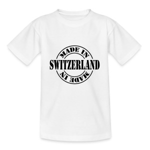 made_in_switzerland_m1 T-Shirts - Teenager T-Shirt