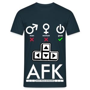 Geek AFK - T-shirt Homme
