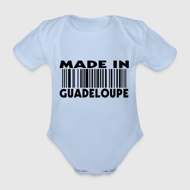 Made in Guadeloupe (1c) - Body bébé bio manches courtes