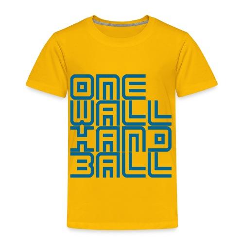 Fleurig kids shirt - Kinderen Premium T-shirt