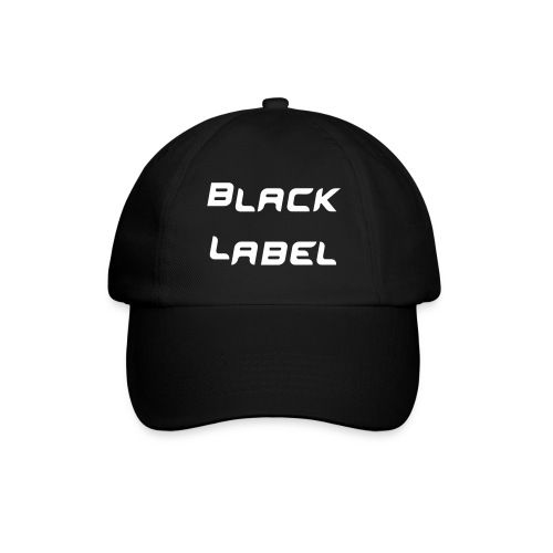 Black Label Cap - Baseball Cap