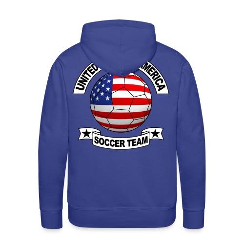 US Soccer Team - Men's Premium Hoodie