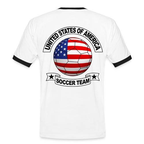 US Soccer Team - Men's Ringer Shirt