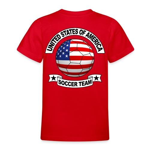 US Soccer Team - Teenage T-Shirt